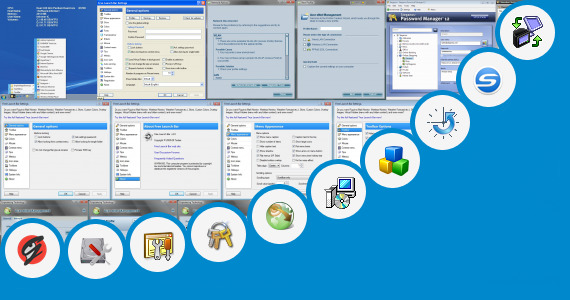 Software collection for Fujitsu Launch Manager Software