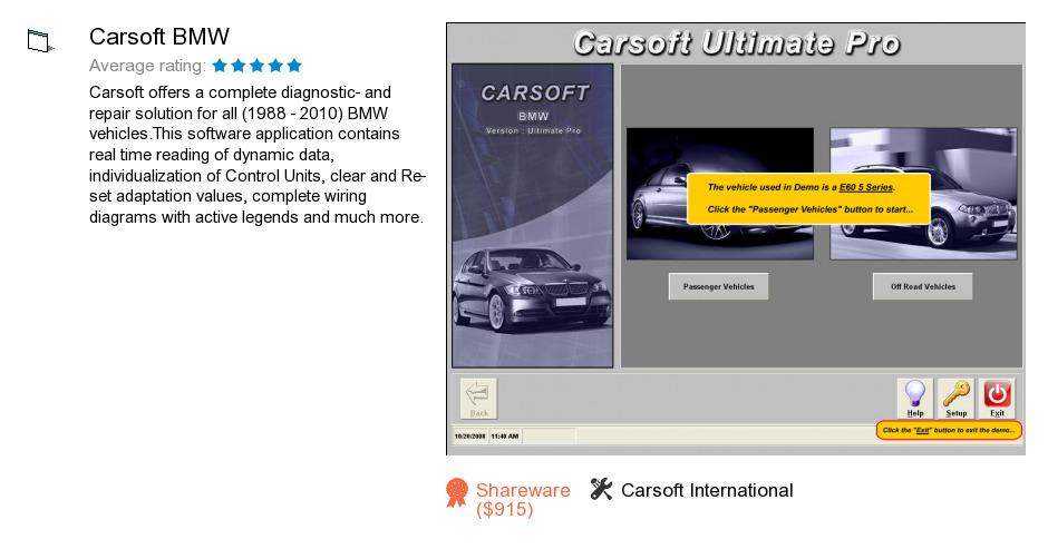 Carsoft BMW