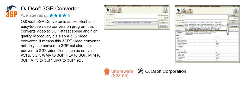 OJOsoft 3GP Converter