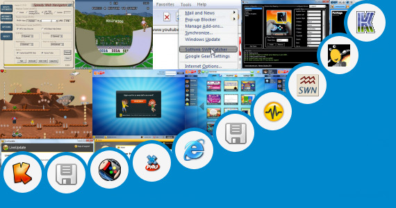 Software collection for Sabay Surf Game