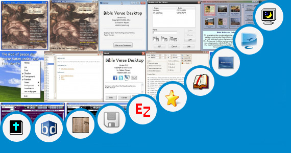 Software collection for Bible Verses Powerpoint Show