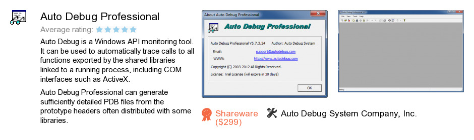 Auto Debug Professional