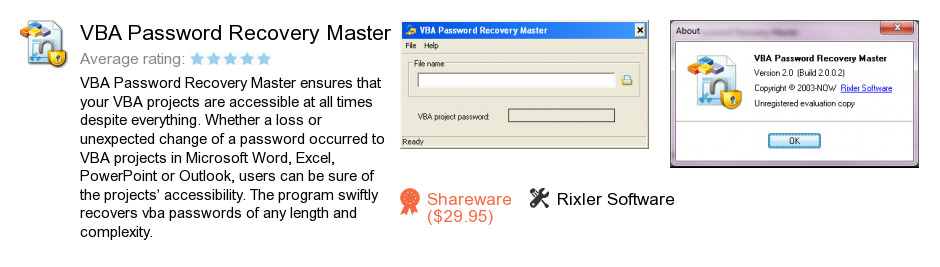 VBA Password Recovery Master