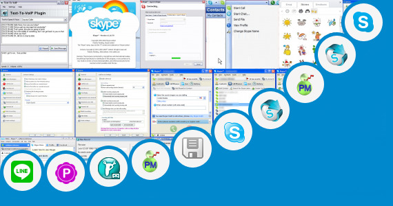 how to search in skype history