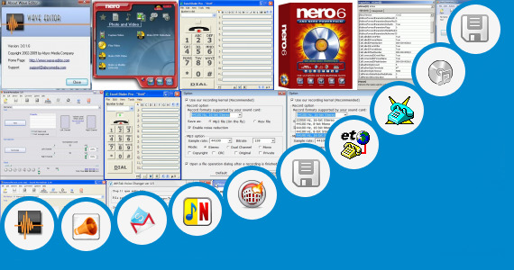 Software collection for Call Recorder Wave 3