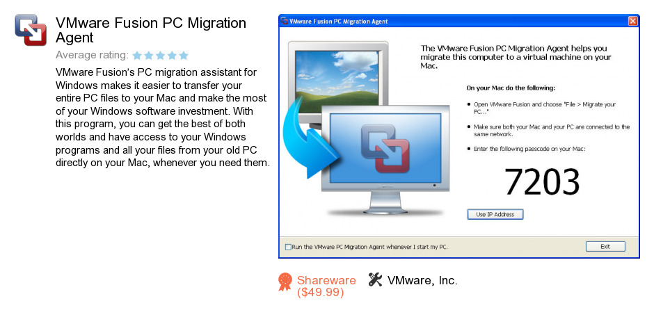 Free Vmware Fusion Pc Migration Agent Download 189 373 842 Bytes
