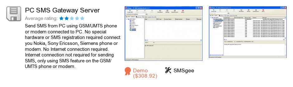 PC SMS Gateway Server