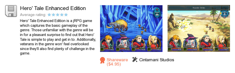 Hero's Tale Enhanced Edition