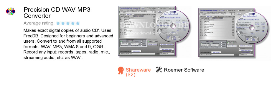 Precision CD WAV MP3 Converter