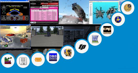 Software collection for Car Customization Simulator