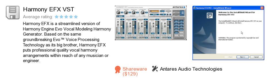 Harmony EFX VST
