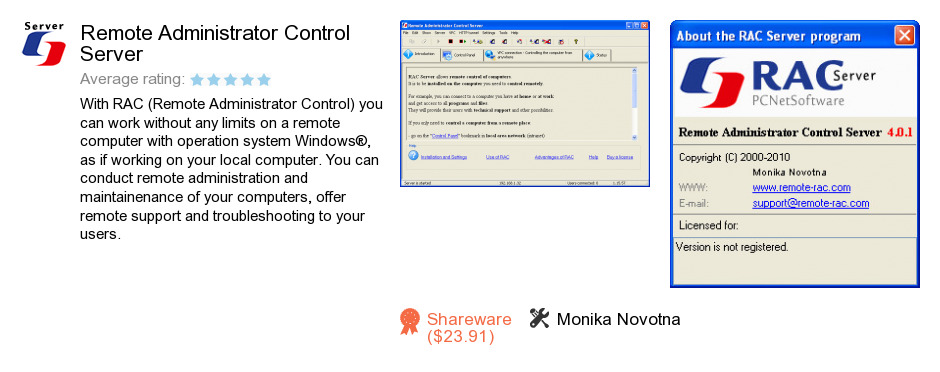 Remote Administrator Control Server