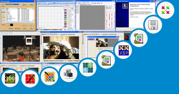 Software collection for Cross Stitch Chart Generator Alphabets