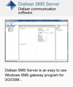 Diafaan SMS Server