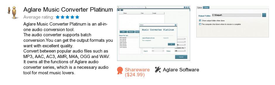 Aglare Music Converter Platinum