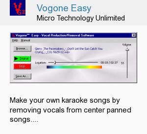 Vogone Easy